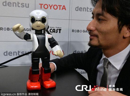 日本成为首个把机器人宇航员送入太空的国家